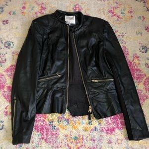 Zara black jean jacket